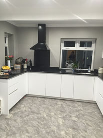 Kitchen redecoration Cheshire